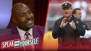 Wiley and Whitlock disagree on Jon Gruden's impact for the Raiders | NFL | SPEAK FOR YOURSELF