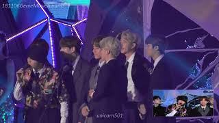 MGA2018 BTS reaction to best Dance performance