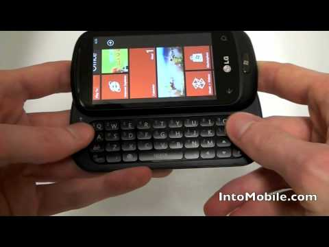 LG Quantum Windows Phone 7 hands-on video review