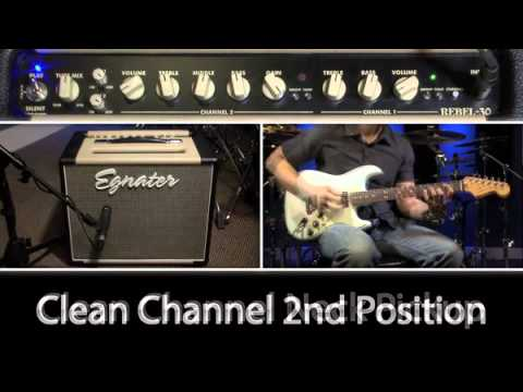 Egnater Rebel 30 Tube Layout Egnater Rebel 30 Combo Gear