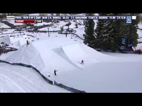 Winter X Games 2012: Kaya Turski's Gold Medal Run