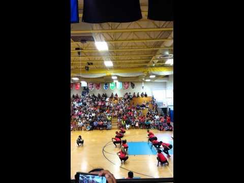 Dancing Dolls of Jackson Mississippi at Mifflin High School
