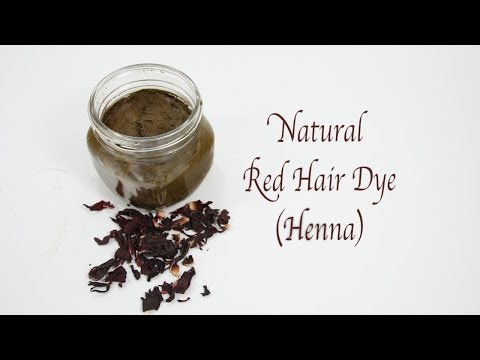 Natural Red Hair Dye with Henna