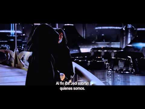 Star Wars Episodio I - La Amenaza Fantasma 3D - Trailer Oficial (Subtitulado Español Latino)