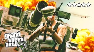 GTA 5 Online FORT ZANCUDO TAKE OVER! GTA 5 Army Base Attack Open Lobby! (GTA 5 PS4 Gameplay)