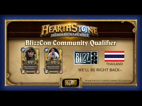 BlizzCon Community Qualifier - Thailand : GrumpyKitten vs THiCAROV