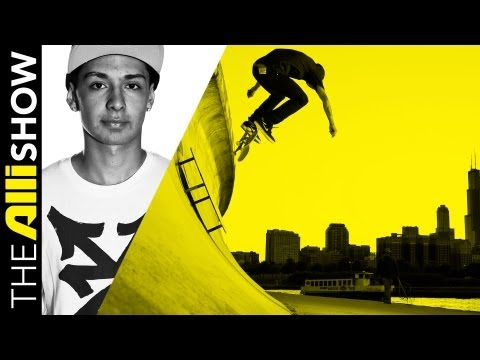 Chaz Ortiz Skating in Chicago, The Alli Show