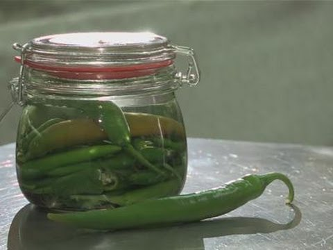 How To Pickle Jalapeno Chilli Peppers