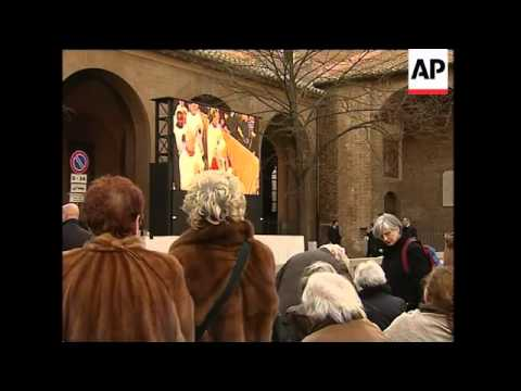 Pope Benedict XVI marks the start of Lent with Ash Wednesday procession