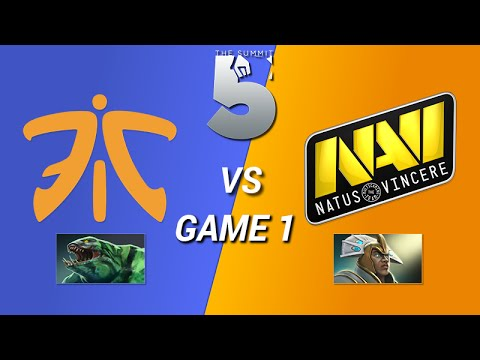 Na'Vi vs Fnatic Game 1 - The Summit 5 LB Round 2