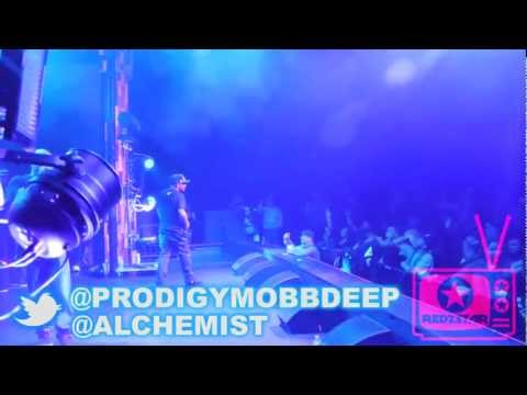 Prodigy of Mobb Deep, Alchemist, Planet Asia & Supreme Cerebral (Live in Santa Ana 12-12-12)