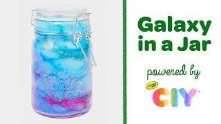 DIY Galaxy in a Jar || Crayola CIY: Create It Yourself