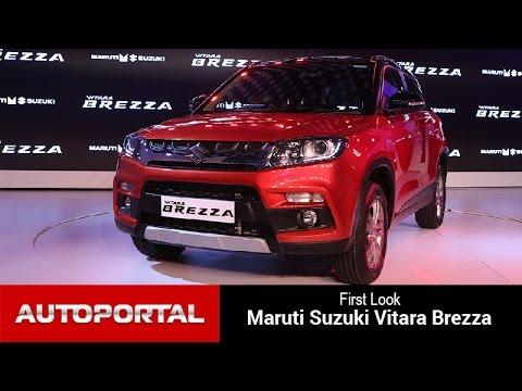 Maruti Suzuki Vitara Brezza First Look - AutoPortal