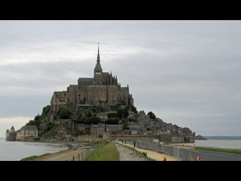 Le Mont Saint-Michel, Normandy, France; one of France's top ten travel attractions