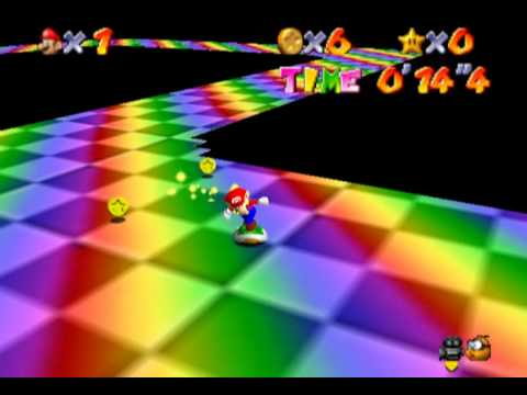 Lets Demo Super Mario 64:Wacky Worlds 1 ||Failure Road||