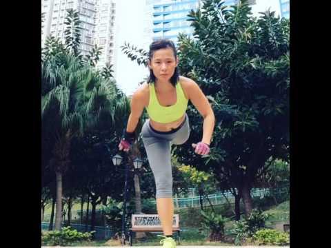 Functional training - balancing, entire body training