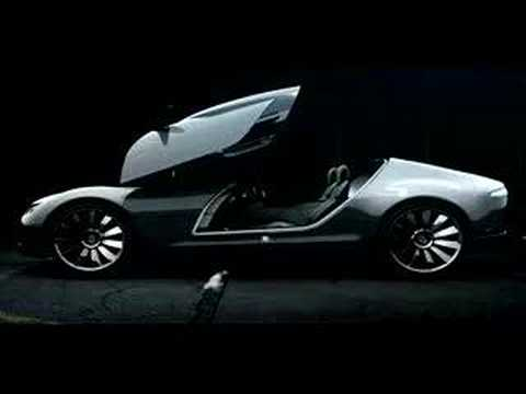 Saab Aero X Concept Car promotional video - YouTube