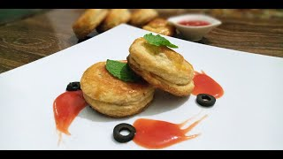 Chicken Patties | Without Oven | Chicken Patties Recipe with Homemade PuffPastry | By  BBGFoodCorner