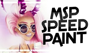 Editing a sub! || xvXMintyXvx MSP Speedpaint