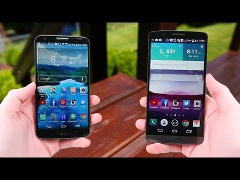 LG G3 vs. LG G2!