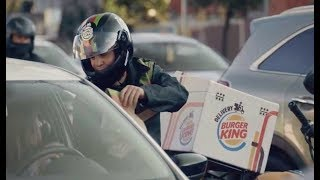 Burger King to Deliver Whoppers...on the Freeway?