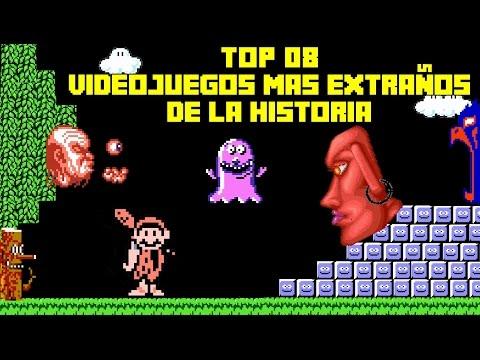Top 08: Videojuegos más Extraños y Bizarros de la Historia - Pepe el Mago