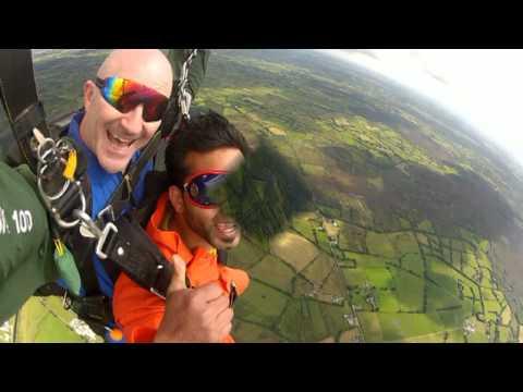 sky diving  (hemel) 2012