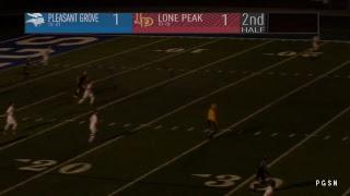 Lone peak at Pleasant Grove Boys Soccer