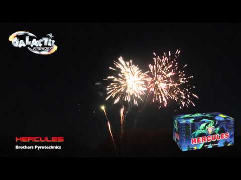 Hercules Pyromeshed By Brothers Pyrotechnics - From Galactic Fireworks