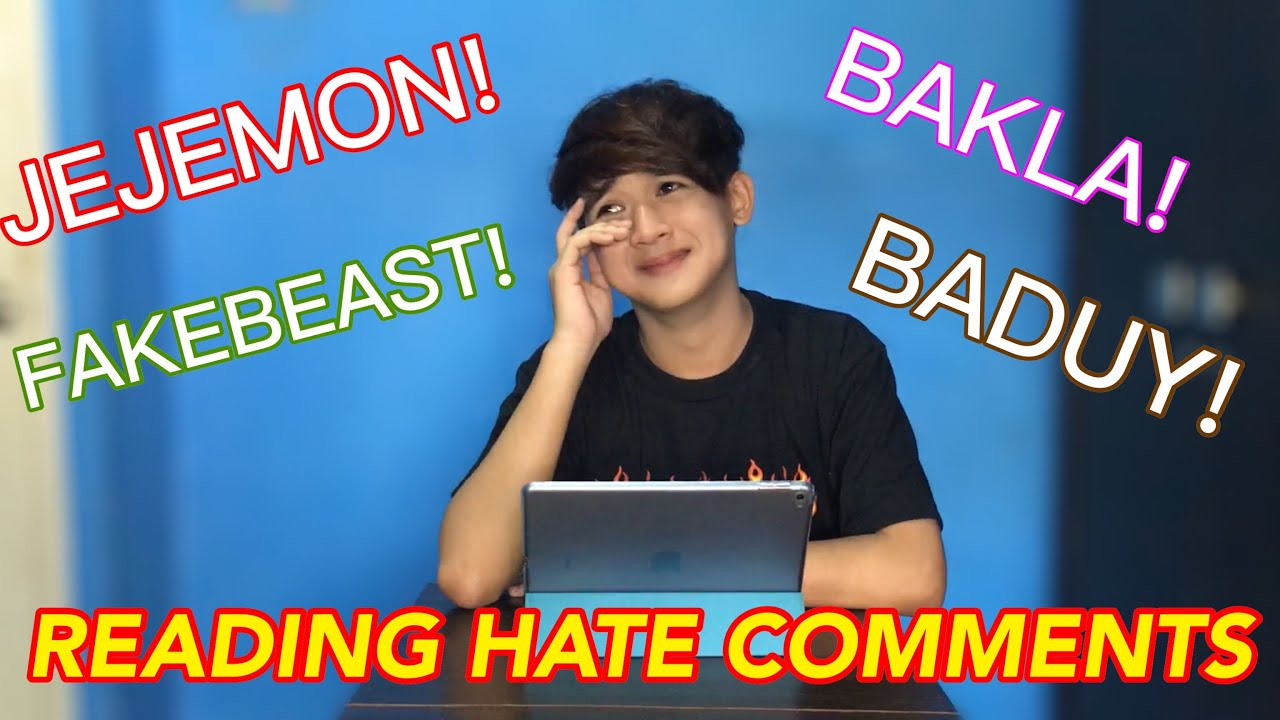 Louis Pre Jr. Reads Hate Comments (IYAK NA AKO)