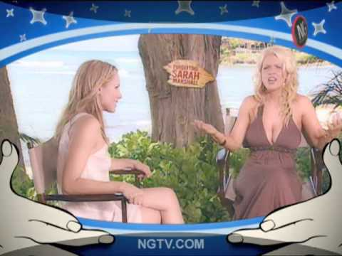 "KRISTEN BELL on ""SEX WARS!!"" w/ Carrie Keagan pt1 Forgetting Sarah Marshall"