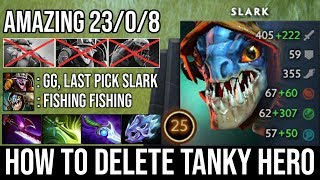 Tanky Heroes Are His Favorite Food [Slark] Infinite Stealing Agility + 210 Max Attack Speed - DotA 2