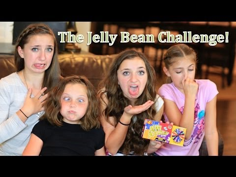 The Gross-out Jelly Bean Challenge | Brooklyn And Bailey video