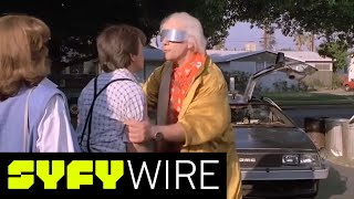 Christopher Lloyd, Lea Thompson talk Back to the Future 30th Anniversary, and Future Day