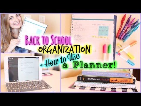 School Organization/Study Tips & How to Use a Planner!   Aspyn Ovard