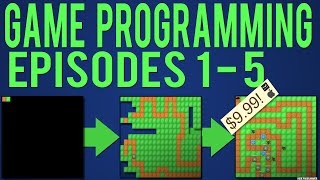 Download Java Game Programming Episodes 1-5: Starting our Game 3Gp Mp4