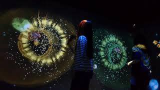 'Bahamut Disco feat. Space Invaders' at Tokyo City View [RAW VIDEO]