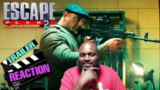 Escape Plan 2:Hades Official Trailer Reaction! 50 CENT A TECH GUY?