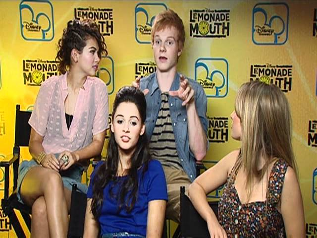 Sugarscape interview the Lemonade Mouth gang