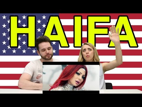 "Americans React To Haifa Wehbe ""Breathing You In"""