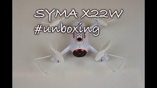 Syma X22W- Představení a unboxing dronu Syma X22W