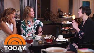 Watch Savannah Guthrie And Hoda Kotb Learn Royal Etiquette   TODAY