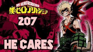 BAKUGO SAVES JIRO! | My Hero Academia Chapter 207 Review (ReUpload)