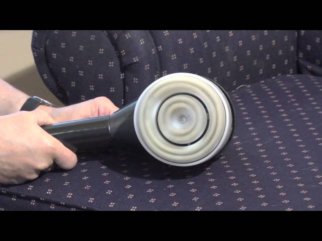 How to Use the Aridex Dry Upholstery Cleaning System