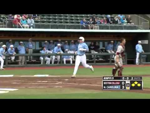 UNC Baseball: Highlights vs. Boston College - Game 3