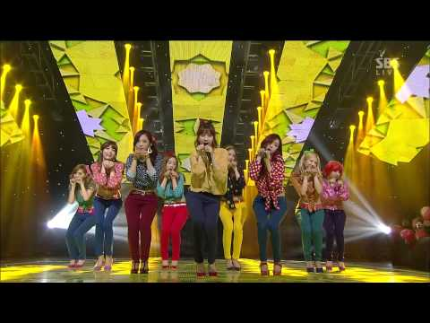 소녀시대 (girls' Generation) [dancing Queen   I Got A Boy] sbs Inkigayo 인기가요 20130106 video