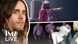 Jared Leto Turns Into Jesus Onstage   TMZ Live