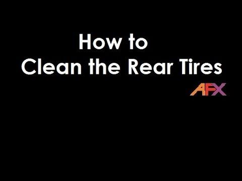 How to Clean Rear Tires on AFX slot cars