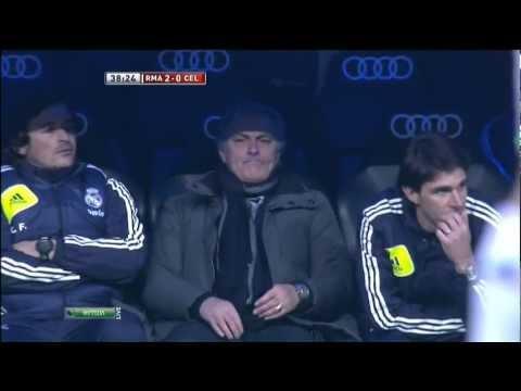 Mourinho against vs Celta Vigo