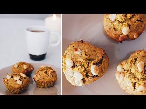 Тыквенные маффины (веган)//Vegan pumpkin spice muffins